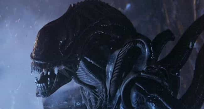 Xenomorph is listed (or ranked) 2 on the list Which Horror Movie Villain Would Win In An All-Out Deathmatch?