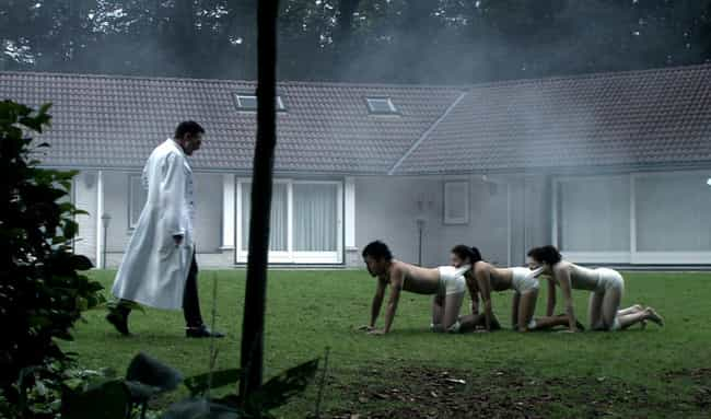 The Human Centipede (Fir... is listed (or ranked) 4 on the list The Absolute Worst Movies to Watch on Date Night