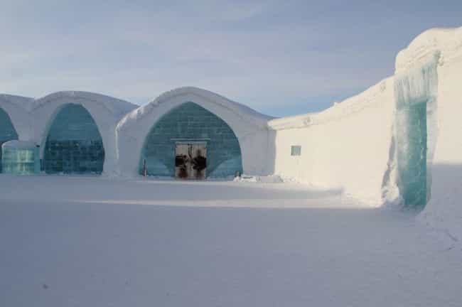 Icehotel is listed (or ranked) 4 on the list Resorts That Are Completely Out of Control