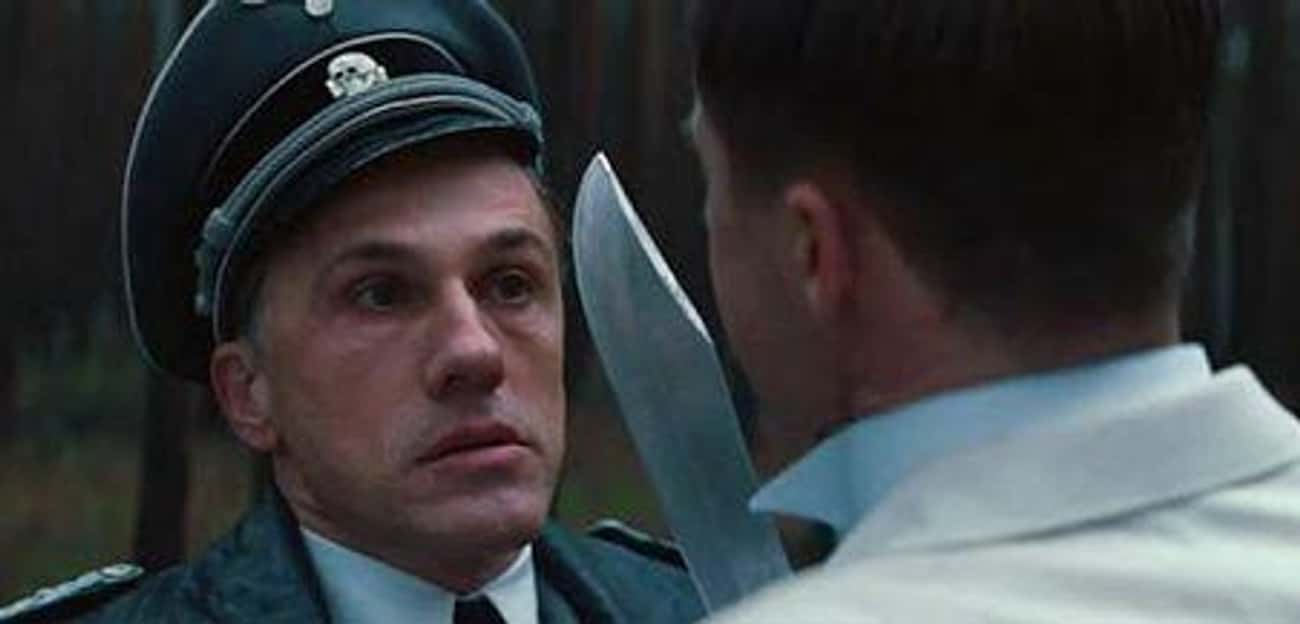 Hans Landa Got A Constant Reminder Carved Into His Skin In 'Inglourious Basterds'