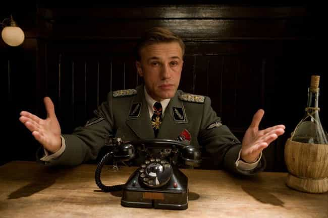 Hans Landa is listed (or ranked) 1 on the list Characters You Never Realized Are Basically Satan