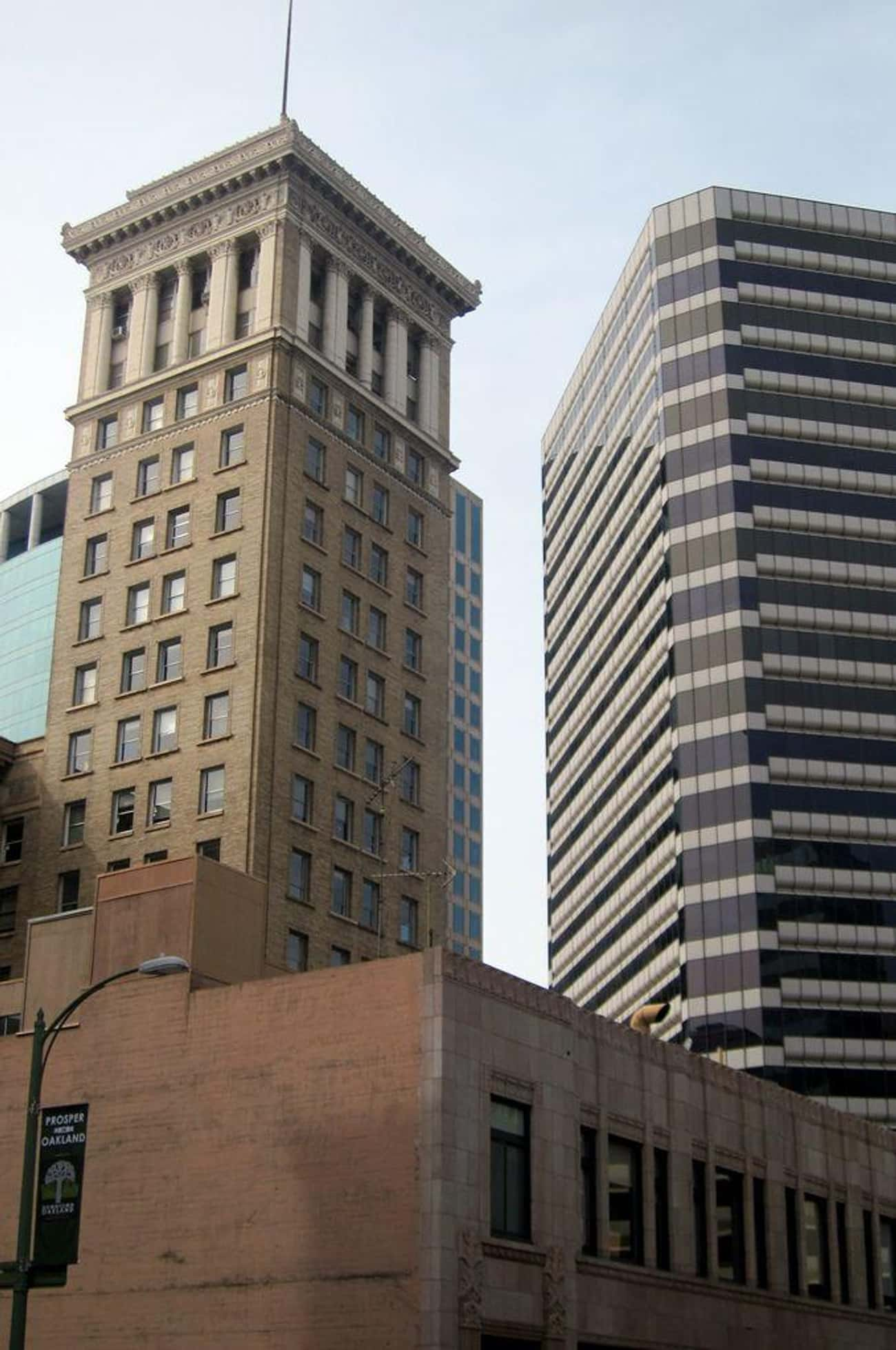 Bank of America Building is listed (or ranked) 3 on the list List of Famous Oakland Buildings & Structures