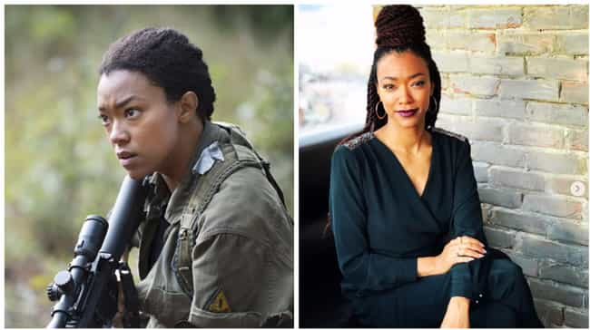 Sonequa Martin is listed (or ranked) 4 on the list What The Walking Dead Cast Looks Like In A World Without The Zombie Apocalypse