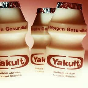 Yakult is listed (or ranked) 11 on the list The Best Probiotics Brands