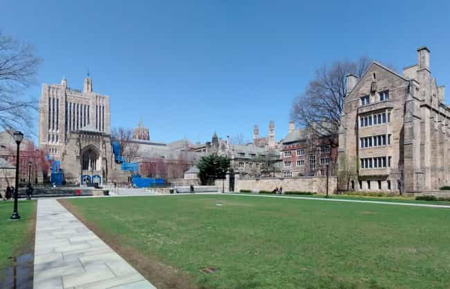 Yale University is listed (or ranked) 3 on the list All Ivy League Colleges Ranked