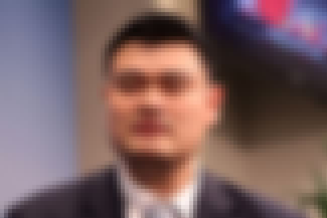 Yao Ming is listed (or ranked) 2 on the list Famous Shanghai Jiao Tong University Alumni
