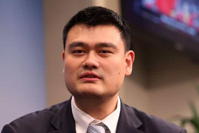 Yao Ming is listed (or ranked) 1 on the list The Tallest NBA Players of All Time, Ranked