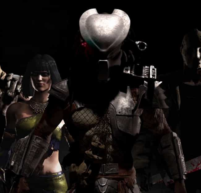Predator is listed (or ranked) 4 on the list The Best Mortal Kombat X Character