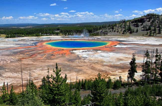 Yellowstone National Park is listed (or ranked) 2 on the list The Most Beautiful Places In America