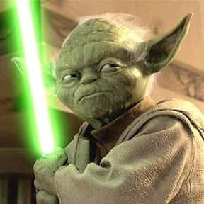 Yoda is listed (or ranked) 3 on the list Vader to Binks: Best to Worst Star Wars Characters