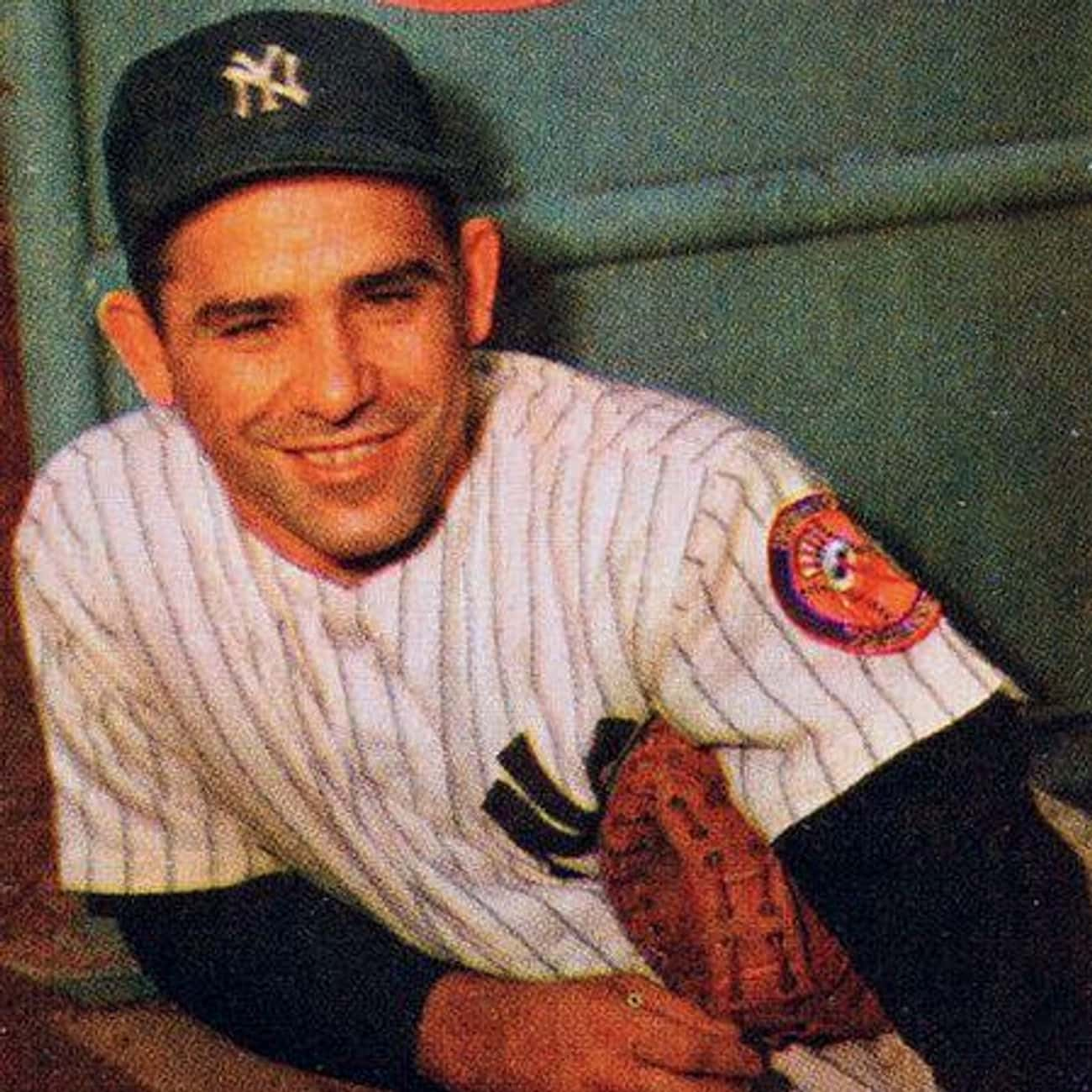 Yogi Berra is listed (or ranked) 4 on the list The Best Athletes Who Wore #8