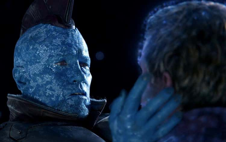 Yondu Freezes To Death In Space After Rescuing Quill - 'Guardians of the Galaxy Vol. 2'