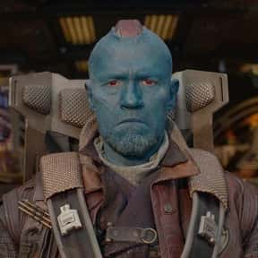 Yondu is listed (or ranked) 20 on the list The Best Characters In The Marvel Cinematic Universe
