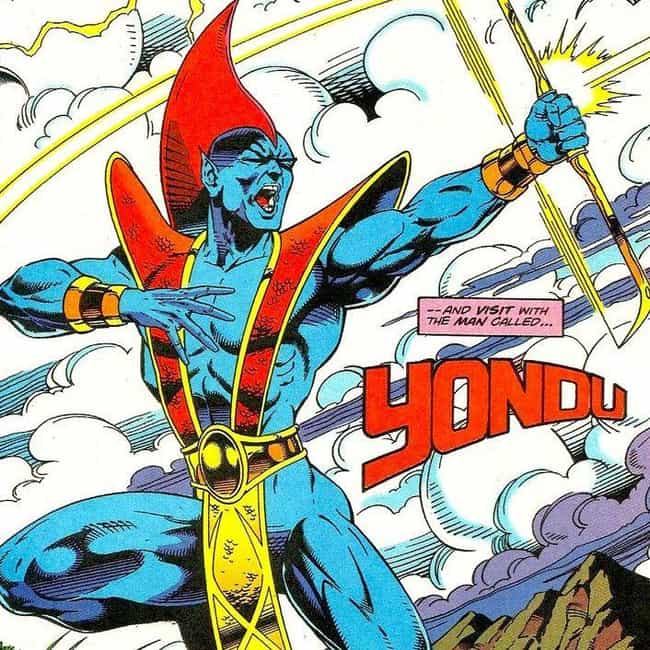 Yondu is listed (or ranked) 1 on the list Meet The Original Version Of The Guardians Of The Galaxy