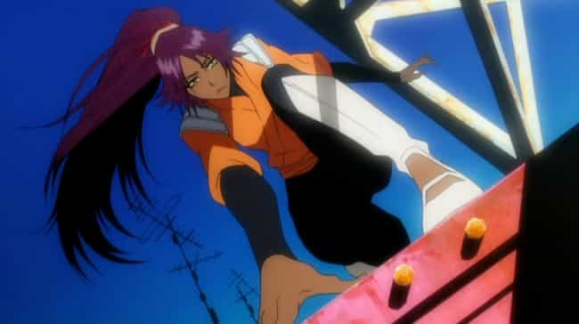 Yoruichi Shihouin is listed (or ranked) 4 on the list 15 Insanely Fast Anime Characters Who Move At Superhuman Speed