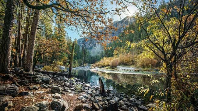Yosemite National Park ... is listed (or ranked) 1 on the list America's Best Family Getaways