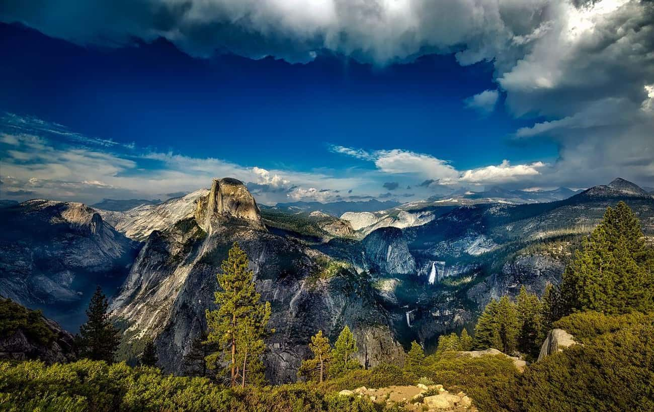 Yosemite National Park is listed (or ranked) 2 on the list The Most Beautiful Places In America