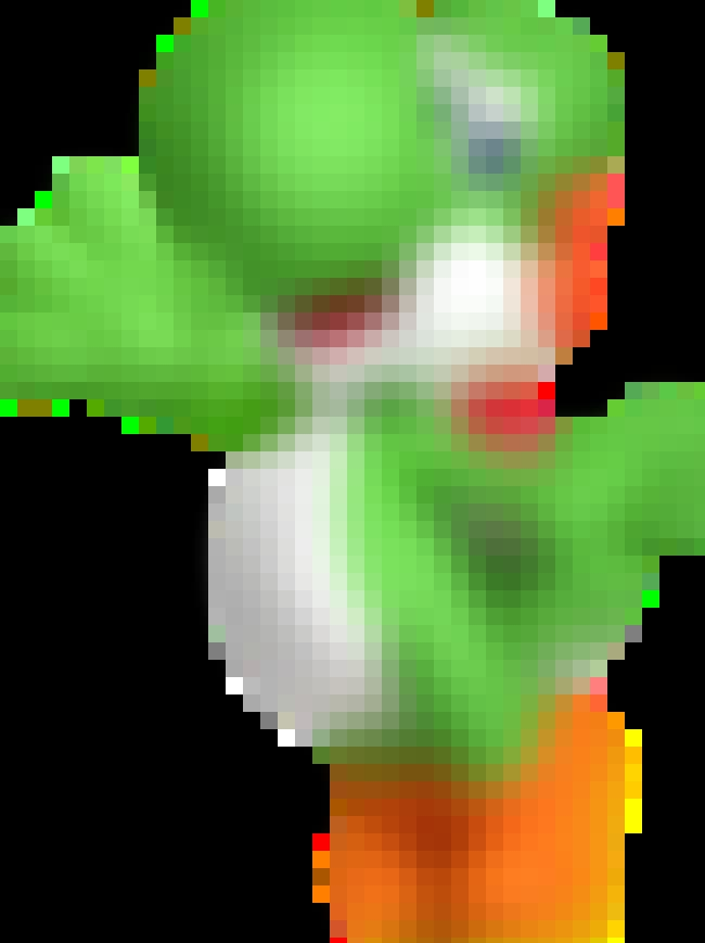 Yoshi is listed (or ranked) 2 on the list What Your 'Super Smash Bros.' Character Says About You