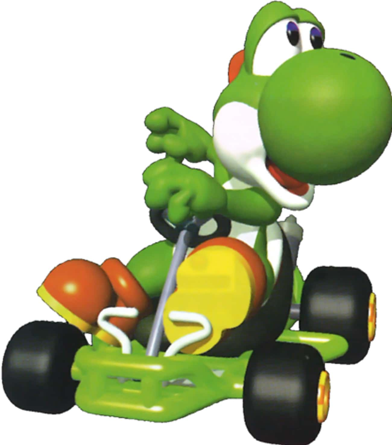 Yoshi: Hits Top Speed the Fast is listed (or ranked) 4 on the list Special Things Every Mario Kart 64 Character Does Better Than The Others