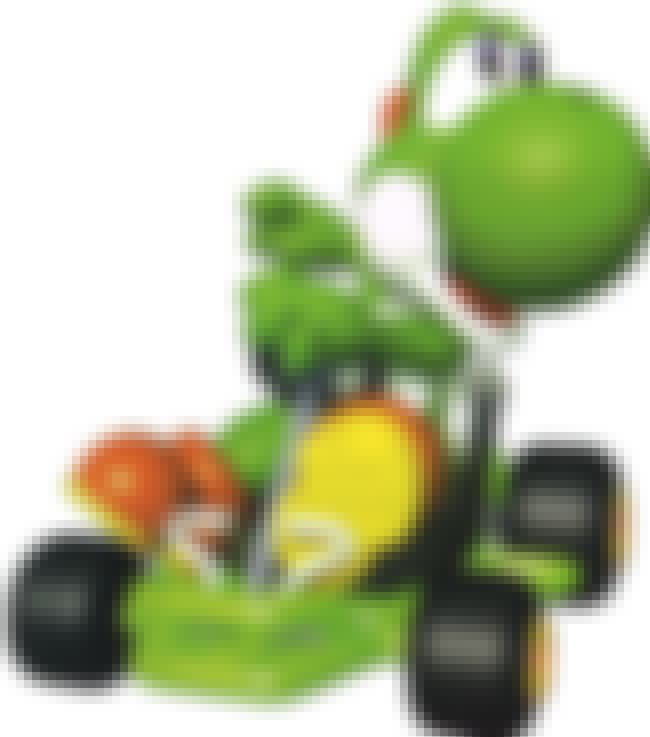 Yoshi is listed (or ranked) 4 on the list Special Things Every Mario Kart 64 Character Does Better Than The Others