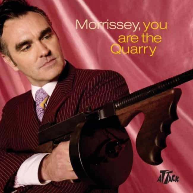 You Are the Quarry is listed (or ranked) 3 on the list The Best Morrissey Albums of All Time