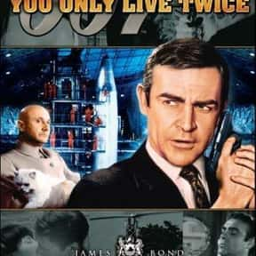 You Only Live Twice is listed (or ranked) 14 on the list The Best Spy Movies Based on Books