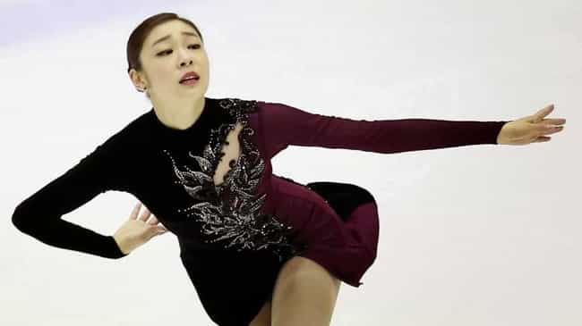 Kim Yuna is listed (or ranked) 4 on the list The Best Athletes of 2014
