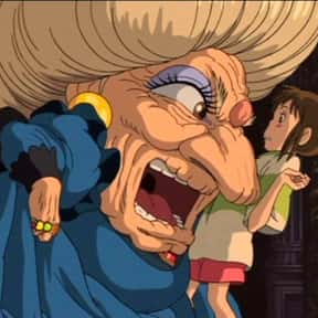 Yubaba is listed (or ranked) 11 on the list The Ugliest Anime Characters of All Time