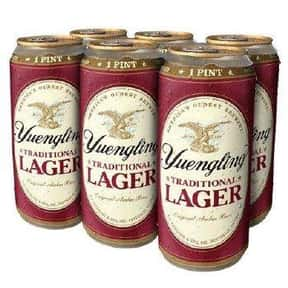 Yuengling Traditional Amber La is listed (or ranked) 1 on the list The Best American Domestic Beers