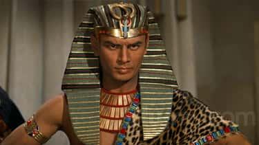 Yul Brynner As Ramesses II In 'The Ten Commandments'