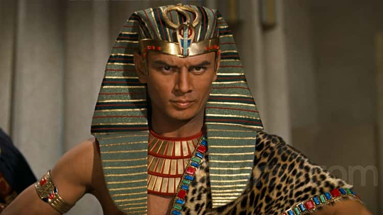 Yul Brynner As Ramesses II In 'The Ten Commandments'