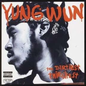 Yung Wun is listed (or ranked) 13 on the list Ruff Ryders Complete Artist Roster