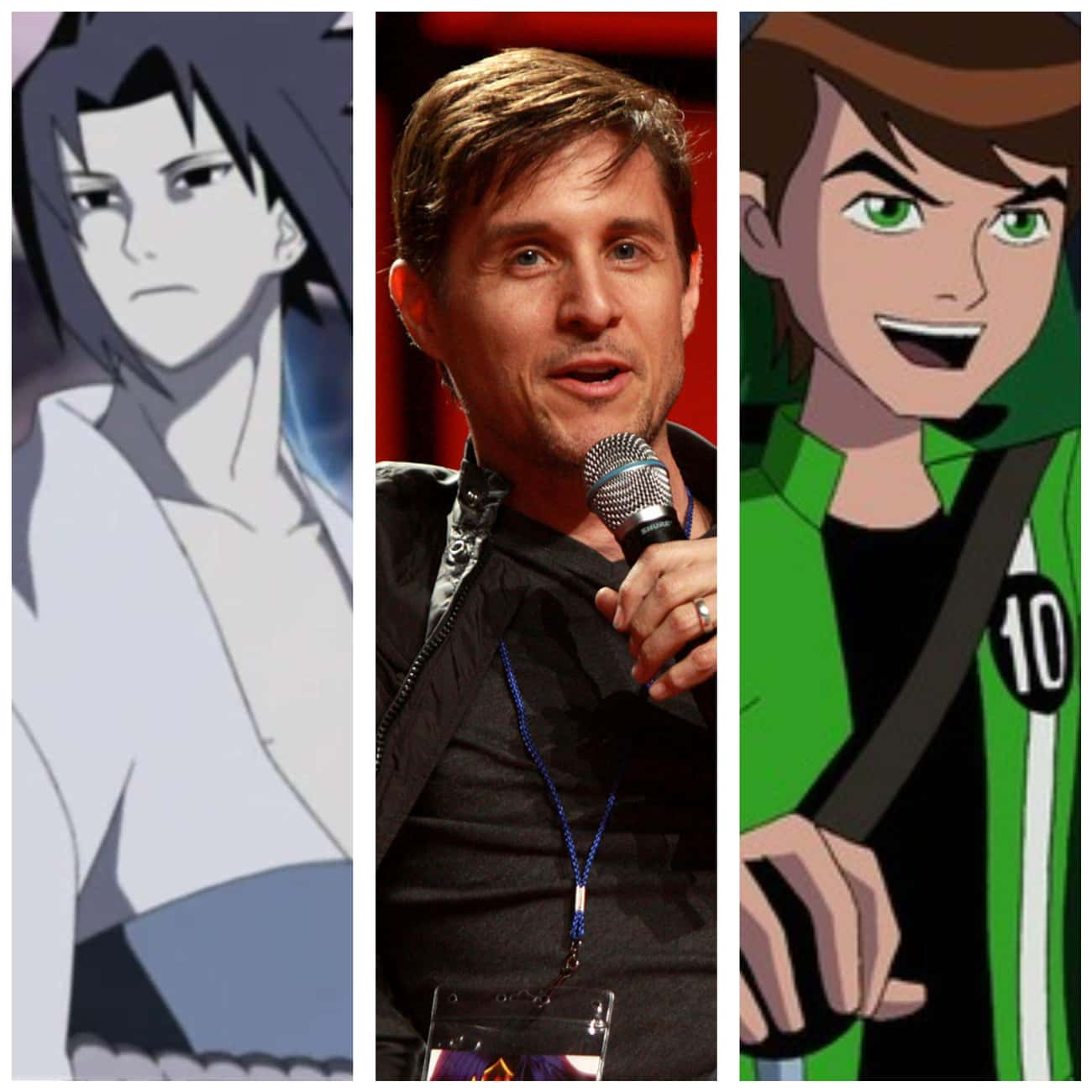 Yuri Lowenthal From 'Naruto' A is listed (or ranked) 2 on the list 15 Times Anime Voice Actors Appeared In Western Cartoons