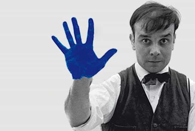 Yves Klein is listed (or ranked) 1 on the list Famous Monochrome Painting Artists