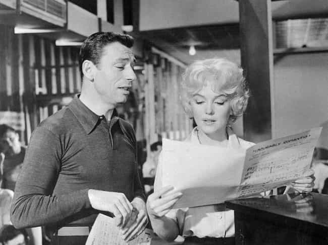 Yves Montand is listed (or ranked) 3 on the list Marilyn Monroe's Loves & Hookups