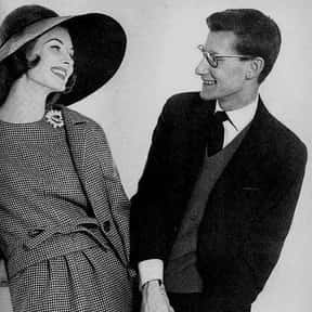 Yves Saint Laurent is listed (or ranked) 3 on the list The Most Influential Fashion Designers Of All Time