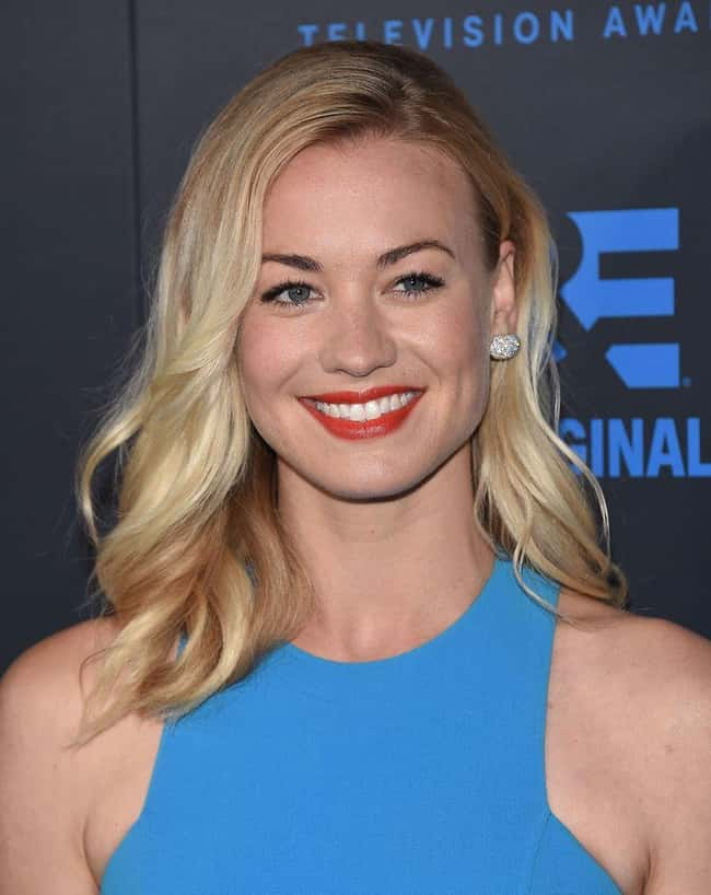 Yvonne Strahovski is listed (or ranked) 65 on the list The Most Captivating Celebrity Eyes (Women)