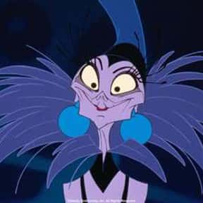 Yzma is listed (or ranked) 21 on the list The Greatest Female Villains