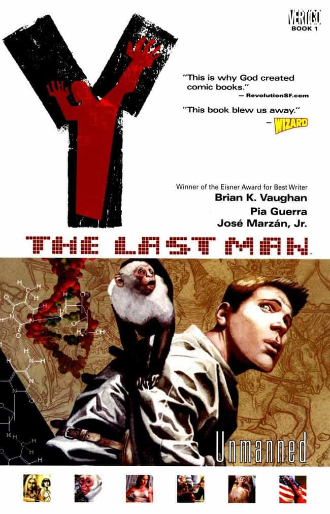Y: The Last Man is listed (or ranked) 2 on the list 24 Criminally Underrated Indie Comics You Should be Reading