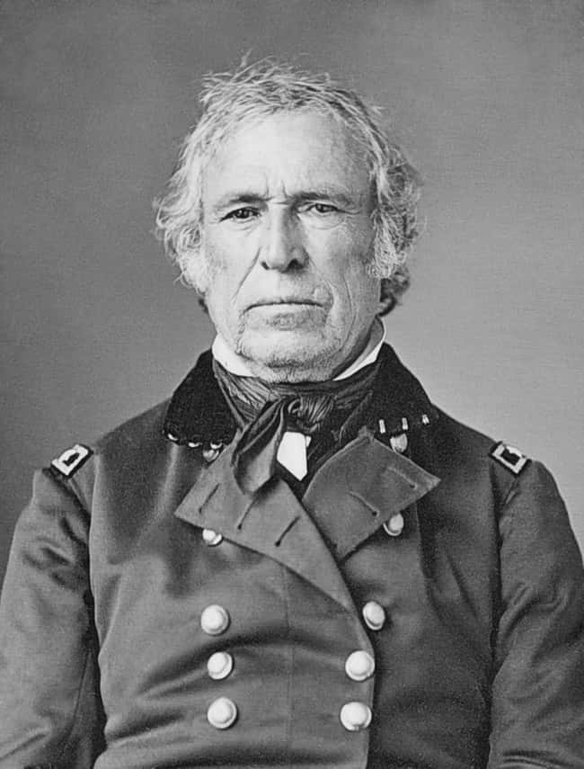 Zachary Taylor is listed (or ranked) 12 on the list Every U.S. President & Every Medical Problem They've Ever Had