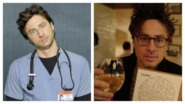 Zach Braff is listed (or ranked) 1 on the list The Cast Of 'Scrubs': Where Are They Now?