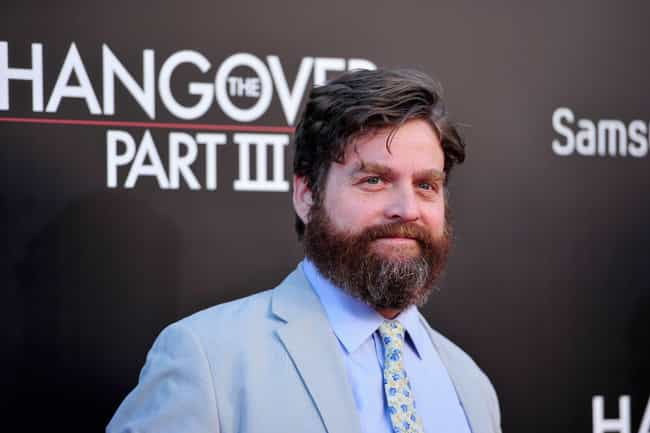 Zach Galifianakis is listed (or ranked) 3 on the list 27 Celebrities Who Hate Being Famous