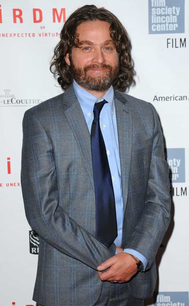Zach Galifianakis is listed (or ranked) 8 on the list 29 Celebrities Who Lost a Ton of Weight (Before and After)