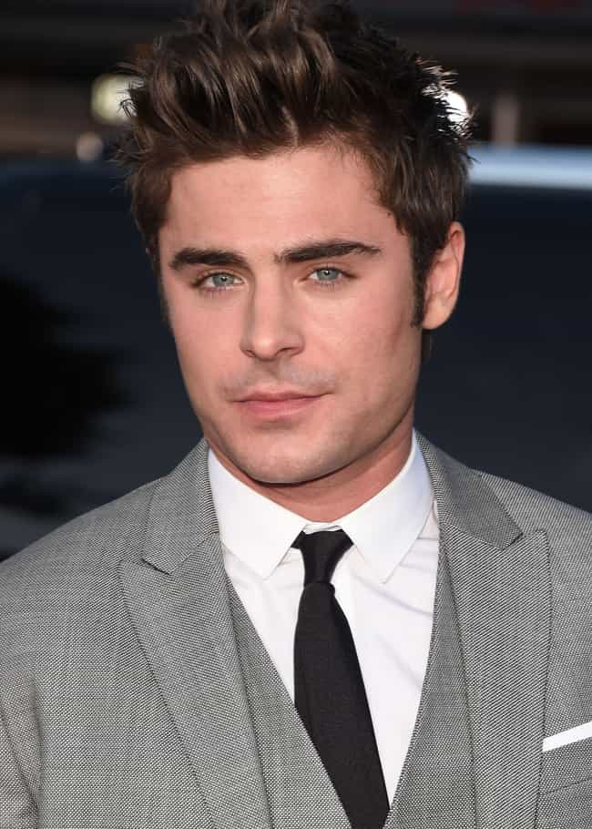 Zac Efron is listed (or ranked) 3 on the list The Most Eligible Bachelors of 2019
