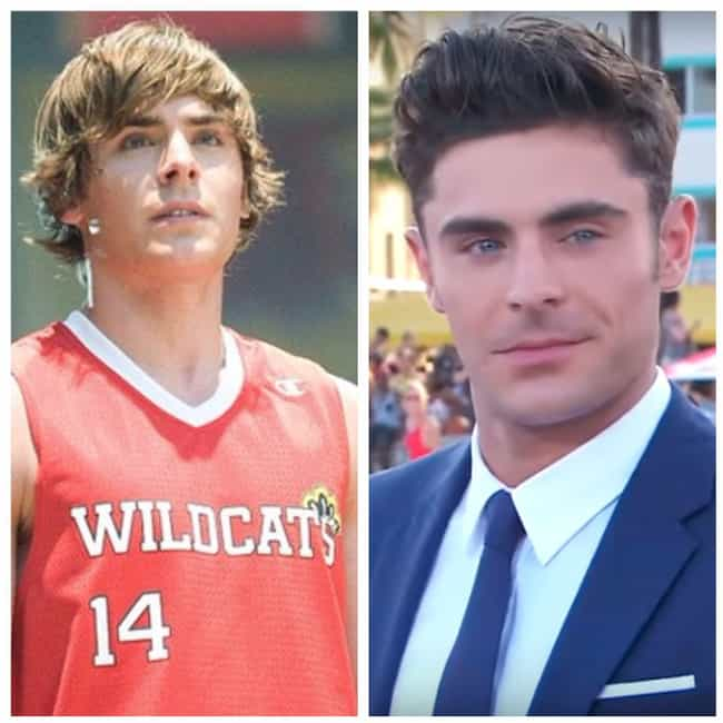 Zac Efron is listed (or ranked) 4 on the list Disney Stars Who Eventually Turned On Disney