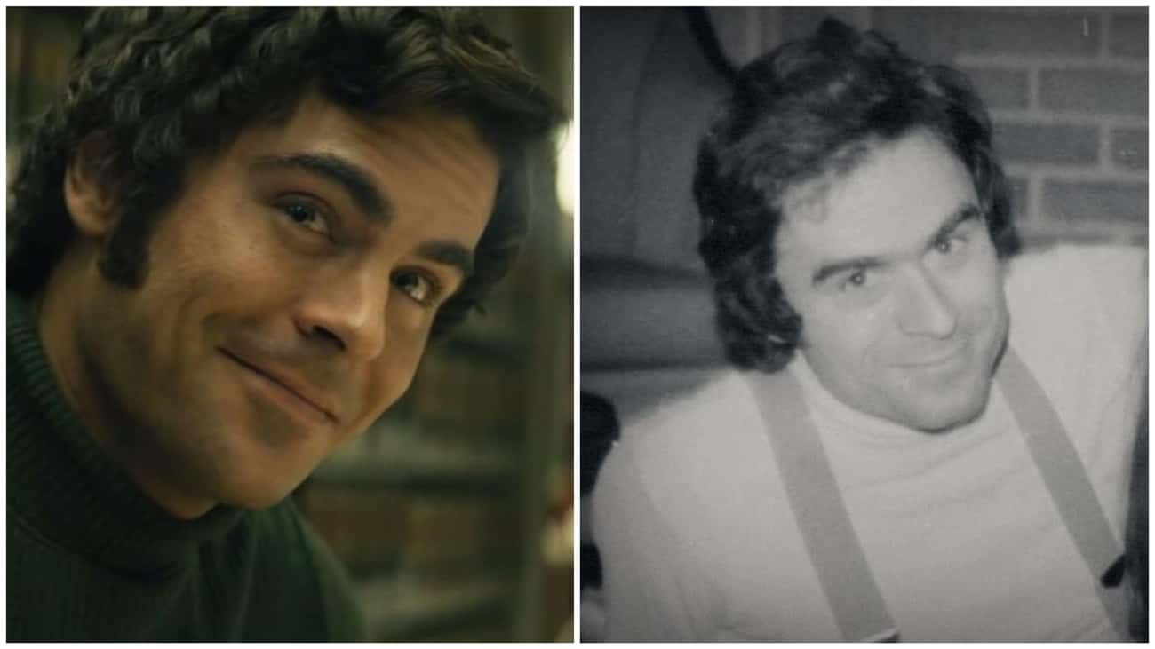 Zac Efron - Ted Bundy is listed (or ranked) 1 on the list 'Extremely Wicked, Shockingly Evil And Vile' Actors Vs. The Real People They Portrayed
