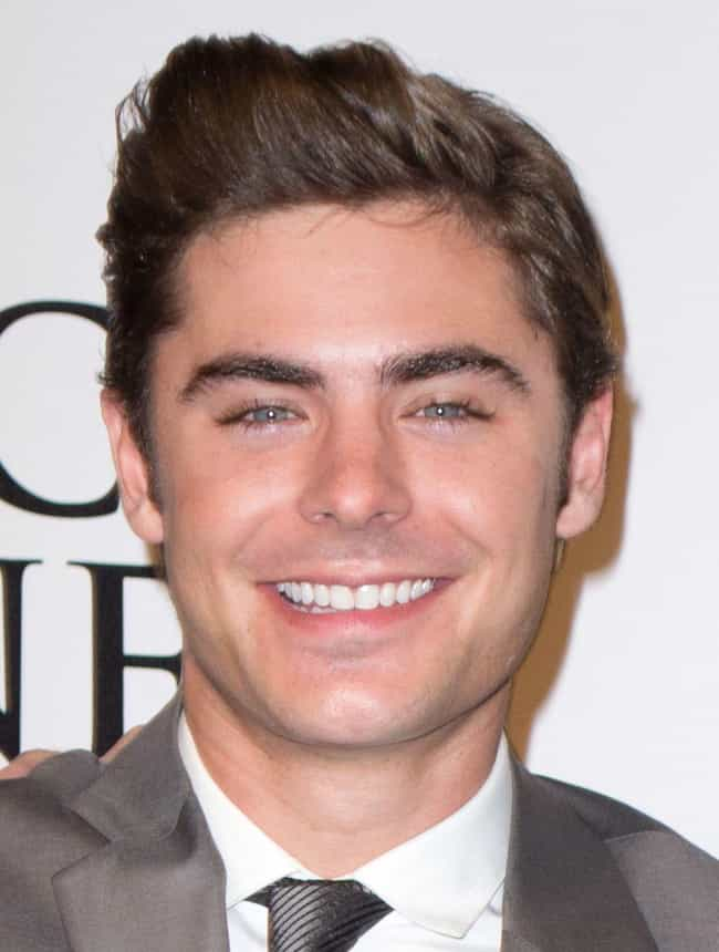 Zac Efron is listed (or ranked) 3 on the list The Best Celebrity Smiles (Men)