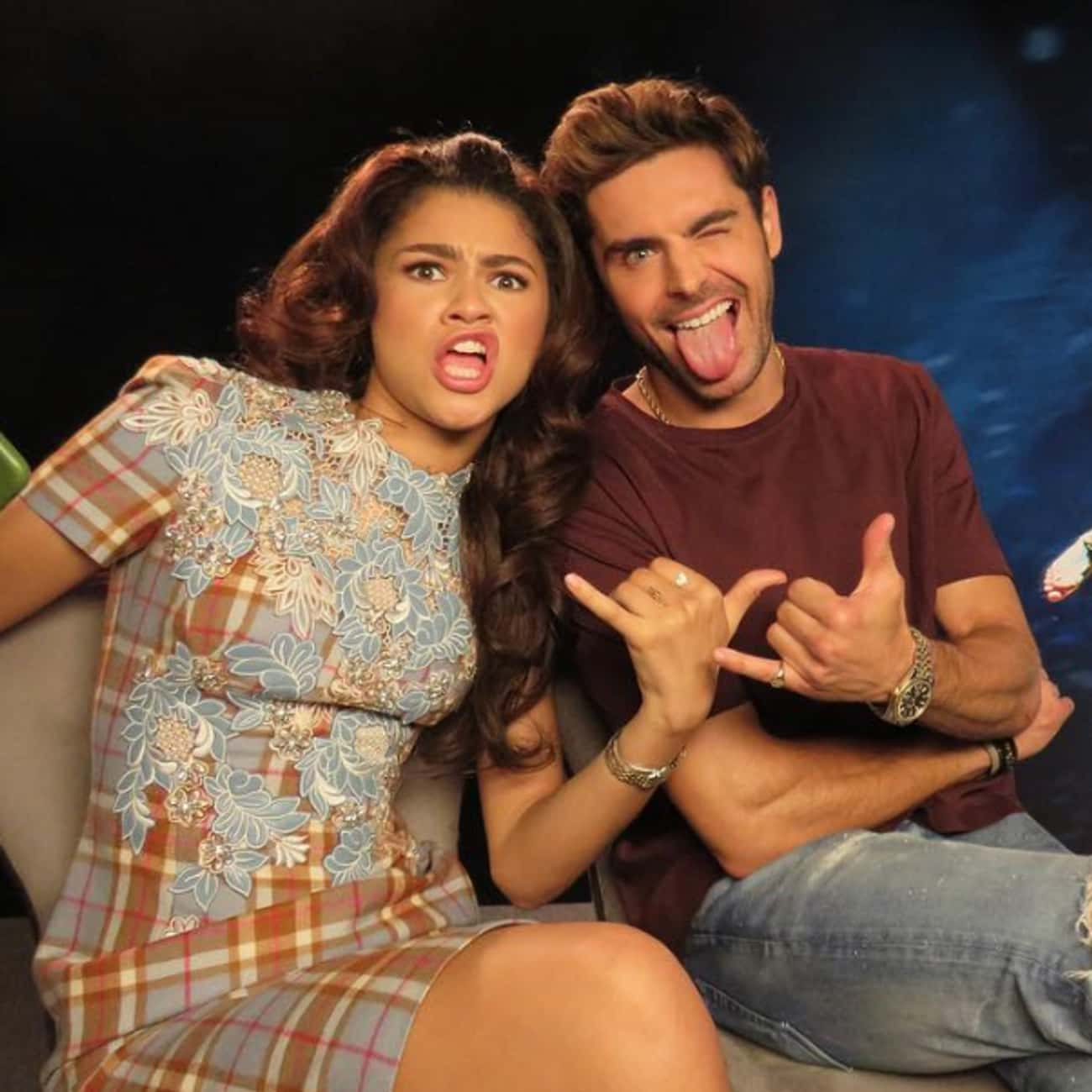 Zac Efron is listed (or ranked) 2 on the list All Of Zendaya's Famous BFFs