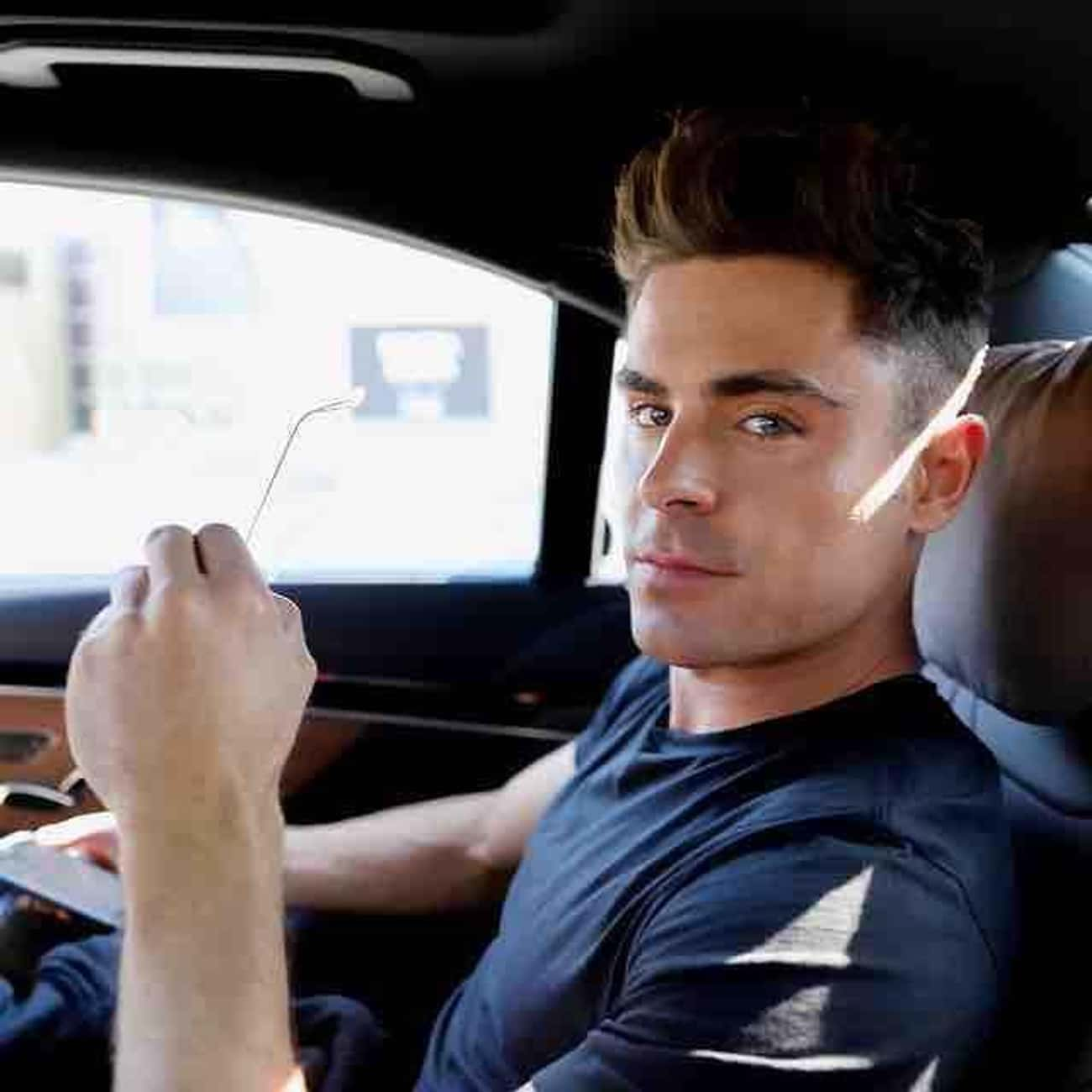Zac Efron is listed (or ranked) 1 on the list The Greatest Celebrity Hair (Men)