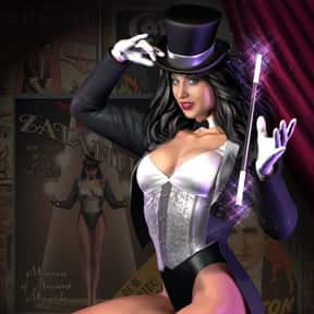 Zatanna is listed (or ranked) 9 on the list The Most Attractive Cartoon Characters Of All Time